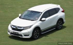 2017 Honda CR-V Malaysia drive-10