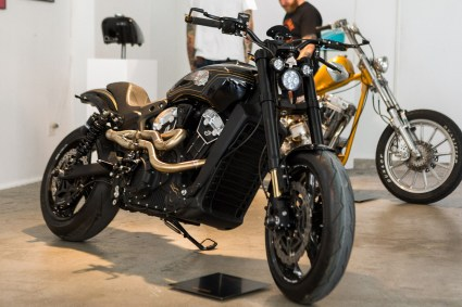 2018 Indian Motorcycles Scout Bobber Brooklyn show - 13 BM