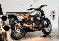 2018 Indian Motorcycles Scout Bobber Brooklyn show - 17 BM