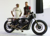 2018 Indian Motorcycles Scout Bobber Brooklyn show - 20 BM