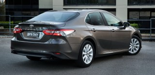 SPYSHOT: 2019 Toyota Camry spotted in Thailand