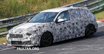 BMW 1 Series next-gen interior spyshots 5
