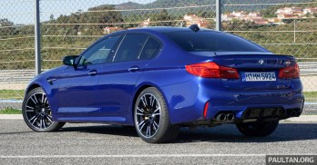 F90 BMW M5 in Portugal review PT 3