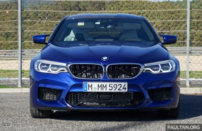 F90 BMW M5 in Portugal review PT 5
