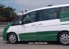 2018 Nissan Serena spied Malaysia 5