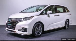 2018 Honda Odyssey Facelift Launch_Ext-1