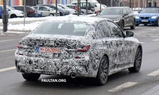 2019 G20 BMW 3 Series Spyshots-7