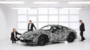 August Achleitner 2018 Porsche 992-2