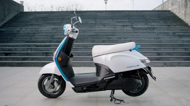 2018 Kymco Ionex e-scooter -10