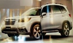 2019 Subaru Forester leaked 1