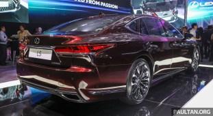Lexus LS500 2018 Launch Sonic Agate_Ext-2
