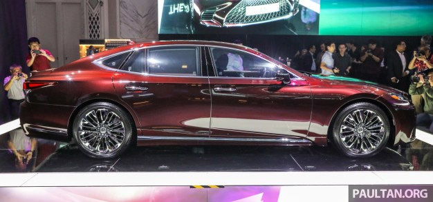 Lexus LS500 2018 Launch Sonic Agate_Ext-3