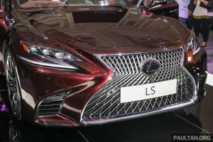 Lexus LS500 2018 Launch Sonic Agate_Ext-6