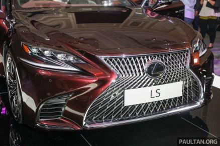 Lexus LS500 2018 Launch Sonic Agate_Ext-6_BM