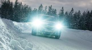 Mercedes-Benz EQC und GLC F-CELL: Auf dem Weg zur Serienreife: Heiß aufs Eis: Elektromobilität im Härtetest