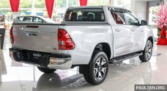 GALLERY: Toyota Hilux L-Edition - 2 4L AT 4x4 variant
