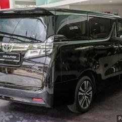 All New Toyota Vellfire 2018 Grand Avanza 1.5 Veloz At Alphard Facelift On Sale Rm351k 541k 2 5 Ext 3