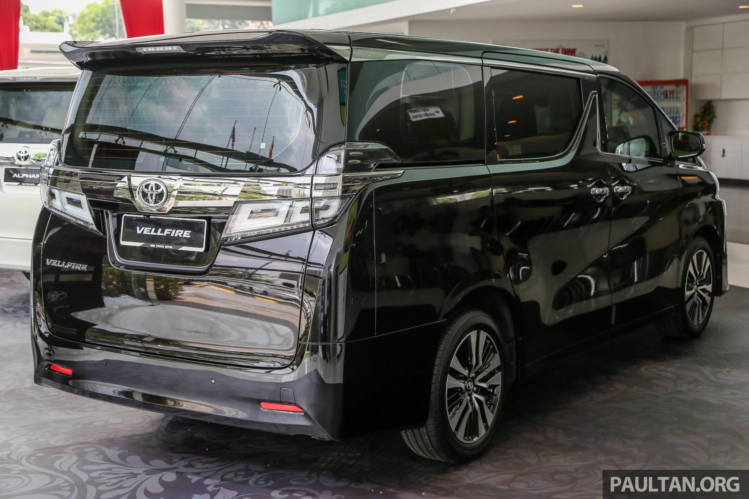 all new toyota vellfire 2018 grand veloz 1.3 alphard facelift on sale rm351k 541k 2 5 ext 3