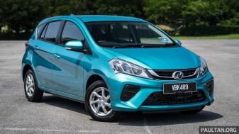2018 Perodua Myvi 1.3 G - Exterior