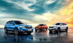 Skoda SUV China range