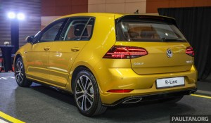 Volkswagen Golf R-Line 2018 Launch_Ext-4