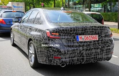 G20 BMW 3 Series Spy May 2018-16