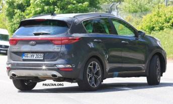 Kia Sportage facelift spyshots 7