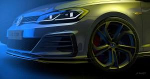 Volkswagen Golf GTI TCR teaser 2