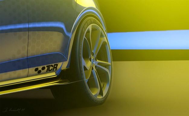 Volkswagen Golf GTI TCR teaser 4