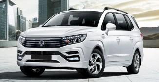 2018 SsangYong Stavic facelift 1