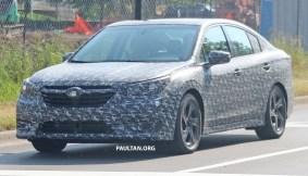 2020 Subaru Legacy spyshots 2