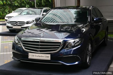 Mercedes-Benz E 250 Exclusive Line in Malaysia-4