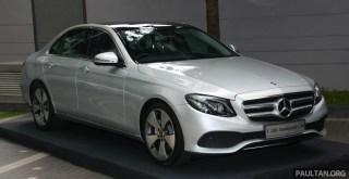 Mercedes-Benz W213 E 250 Avantgarde Line-1