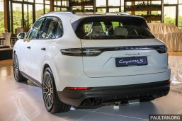 Porsche 2018 All New Cayenne S Launch_Ext-2 BM