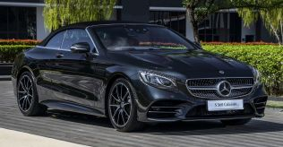 2018 Mercedes-AMG S560 Cabriolet Official Pics