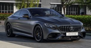 2018 Mercedes-AMG S63 Coupé Official Pics