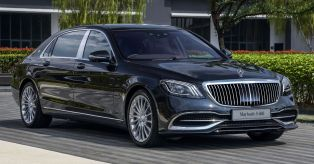2018 Mercedes-Maybach S560 Official Photo