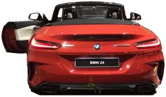 BMW Z4 leak rear