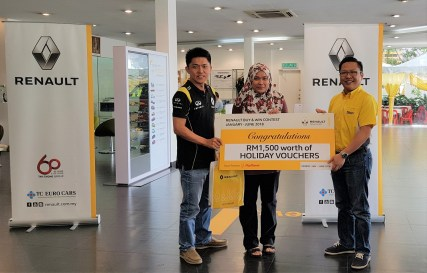 Holiday Prize Winner 1_Renault Buy & Win Final Round_BM