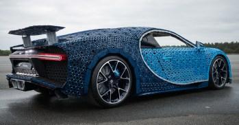 2018 Lego Technic Bugatti Chiron (Life-Sized)