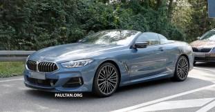 2019 BMW 8 Series Cabriolet Spied_13