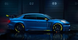 Lynk & Co 03 Cyan Concept