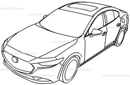 2019 Mazda 3 illustrations 1