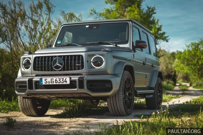 First Drive 2019 Mercedes Amg G63 With 585 Hp V8