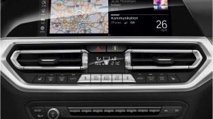 G20 BMW 3 Series configurator interior cilmate control