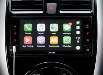 11 New Almera Black Series_Clarion Advanced Display Audio with Reverse Camera, Apply CarPlay & Andriod Auto_BM