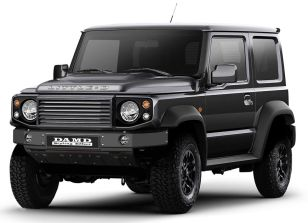 DAMD offers G-Class, Defender kits for Suzuki Jimny