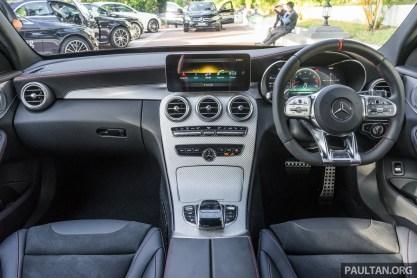 W205 Mercedes-AMG C 43 facelift interior 5
