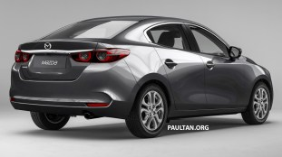 Next Gen Mazda 2 Rendered Based On 2019 Mazda 3