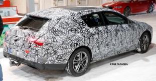 2019 Mercedes-Benz CLA Shooting Brake spy_1